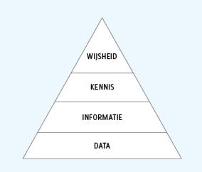 data-wijsheid piramide