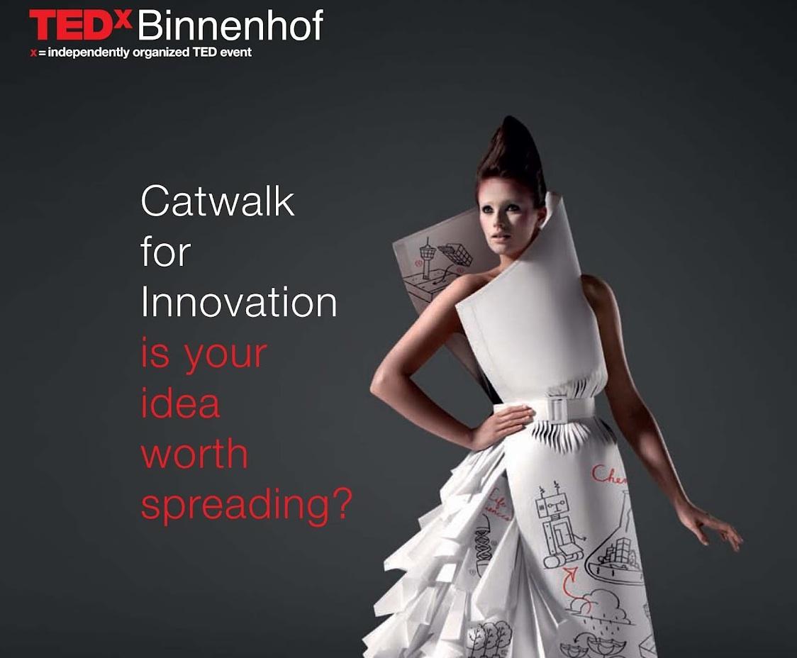 TEDxBinnenhof poster