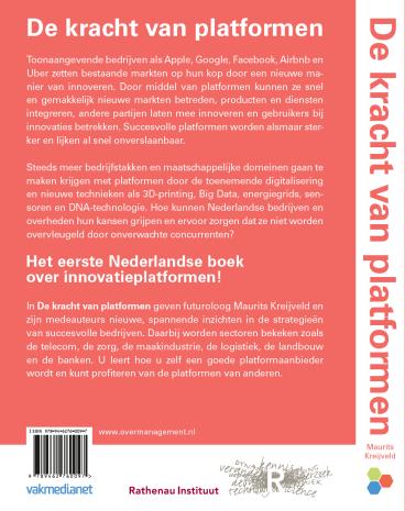 Kracht van Platformen - Maurits Kreijveld - achterflap